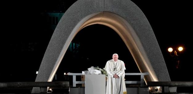 教皇フランシスコ 2019年11月24日 広島・平和記念公園で